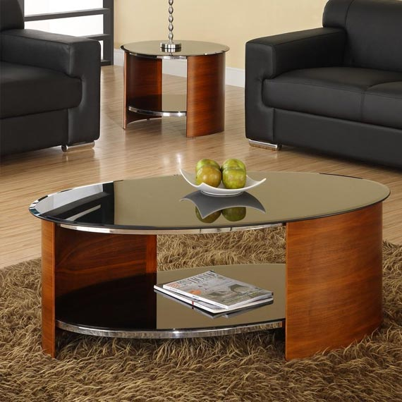 Curve Coffee Table with Storage
