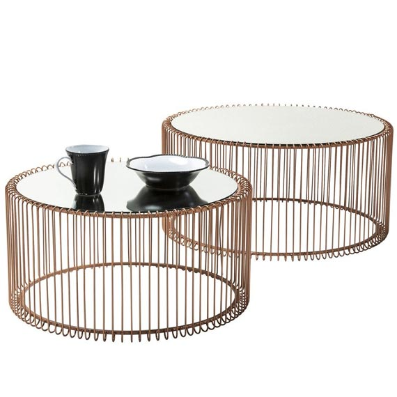 Wire Coffee Table Set